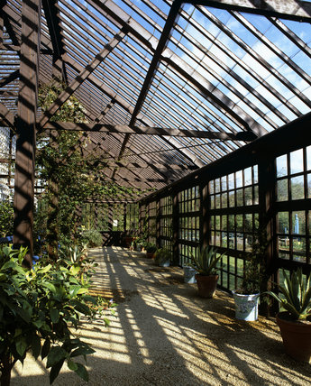 The Plant House at Hidcote Manor Garden, Gloucestershire