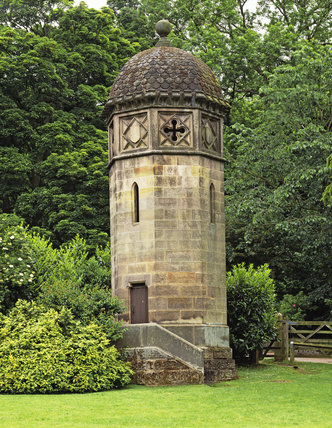 Pepperpot Tower, Ilam Park, Derbyshire