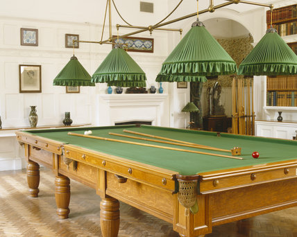 The Billiard Room at Standen, West Sussex