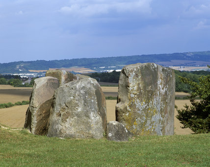 Coldrum Long Barrow in Kent