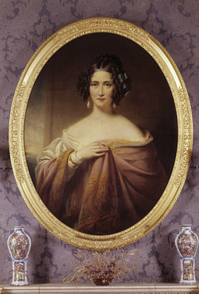 MARY ANNE DISRAELI by James Middleton (1792-1872) (Viscountess Beaconfield)