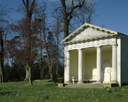 View of the Doric Temple in the Pleasure Ground at Petworth