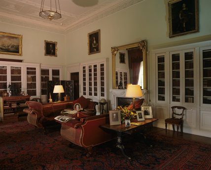 The Library, Castle Coole