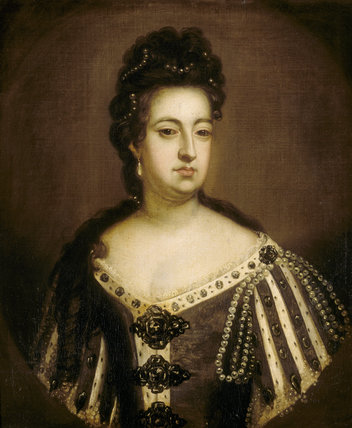 QUEEN MARY II, EARLY 18TH CENTURY by unknown artist