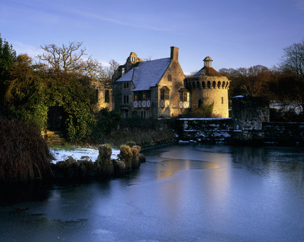 Scotney Castle, taken in the warm afternoon sun