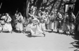 Dancing at a circumcision celebration
