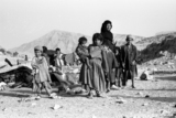 Bakhtiari woman and children