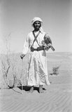 Sheikh Zayed with falcon