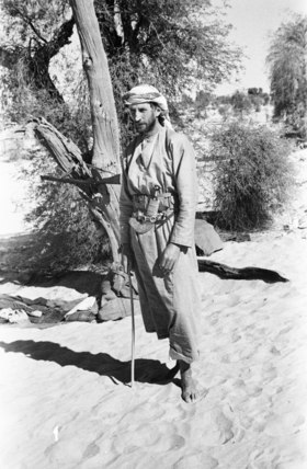 Wilfred Thesiger in Arab dress