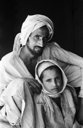 Bal Qarn man with his son