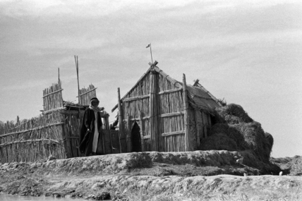 Sarifa at a settlement in the Marshes