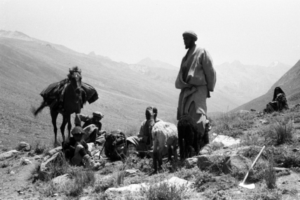 Nuristani men in the Chamar valley