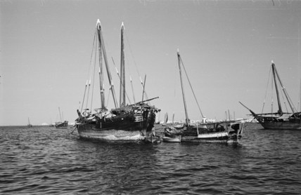 Boats in the Persian Gulf