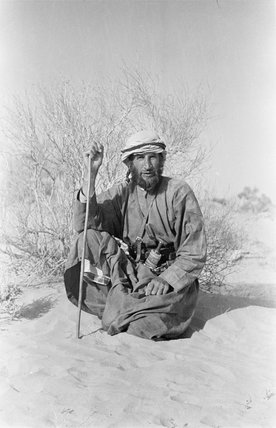 Wilfred Thesiger at Al Ain