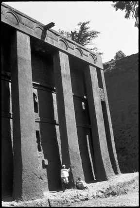 Church of Medhane Alam at Lalibela