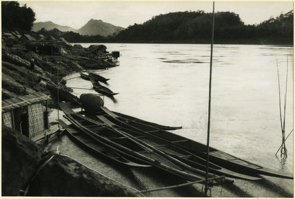 Mekong River at Louangphrabang.