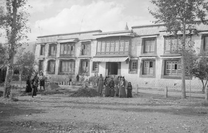 Tsarong's house in Lhasa
