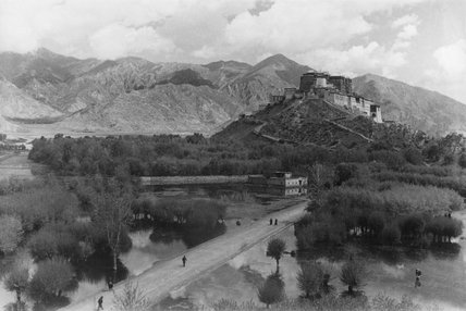 Potala palace from the south west