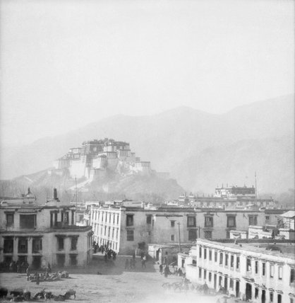 Potala from the south east taken from heart of Lhasa