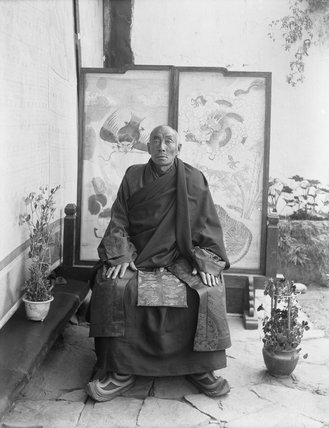 The Chikyak Khenpo or Lord Chamberlain