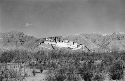 Potala from south