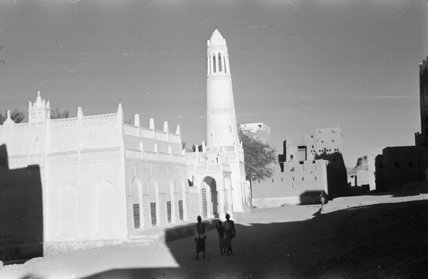 View of a mosque with ...