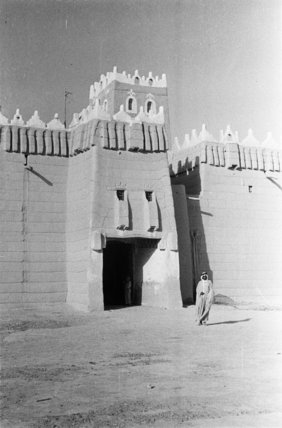 A gate of the fort ...