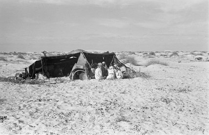View of a tent at ...