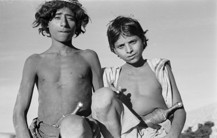 Portrait of two Sa'ar Bedouin ...