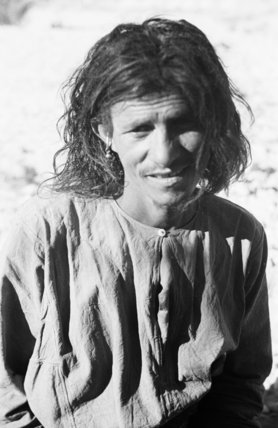 Portrait of a tribesman of ...