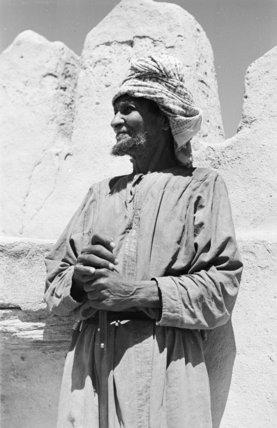 Standing portrait of an elder ...