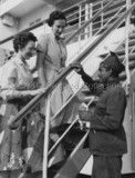 Passengers and a crew member onboard HIMALAYA