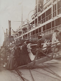 Passengers embarking MANTUA