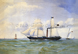 WILLIAM FAWCETT passing a lighthouse