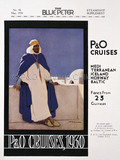 P&O Advert for Cruises, 1930