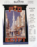 P&O Egypt Advert, 1931
