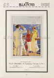 P&O Tourist Class Cruises Advert, 1933