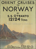 Orient Cruises to Norway by S.S. OTRANTO