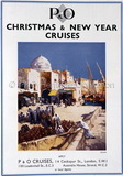 P&O Advert for Christmas & New Year Cruises