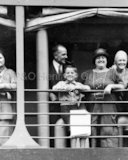 The Kempton family on board BALRANALD