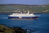 ST. CLAIR in Bressay Sound, Shetland Islands