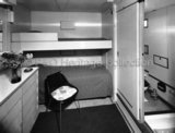 Tourist Class cabin on board CANBERRA