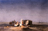 """Encampment by Night"""