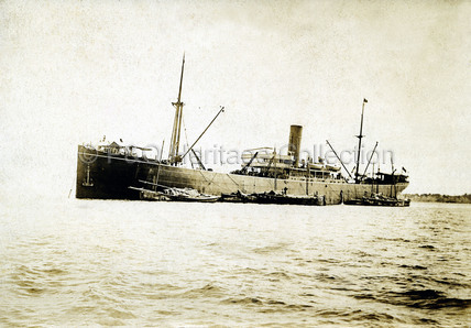 PERA at anchor