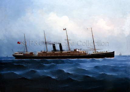 VICTORIA in Chinese waters