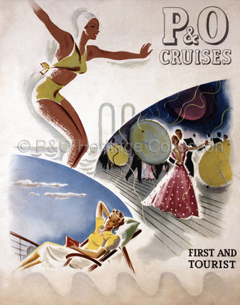 P&O Brochure - First & Tourist Class