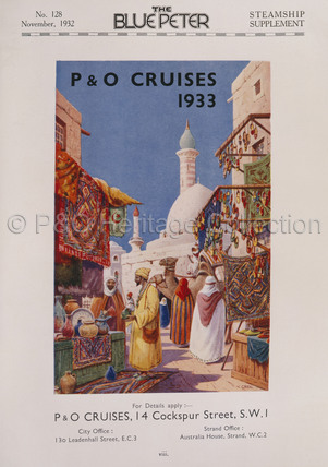 P&O Cruises 1933 Advert