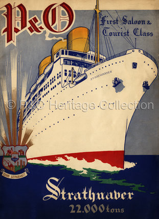 P&O Brochure for STRATHNAVER