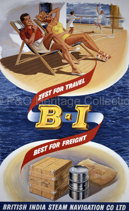 B.I. zest for travel, best for freight
