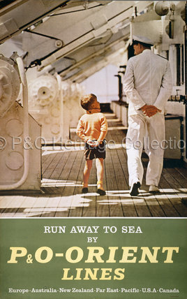 Run away to sea by P&O-Orient Lines